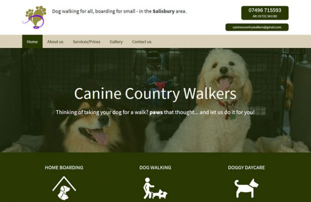 Canine Country Walkers Salisbury
