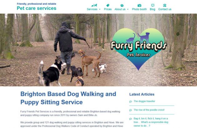 Furry Friends Pet Services Brighton