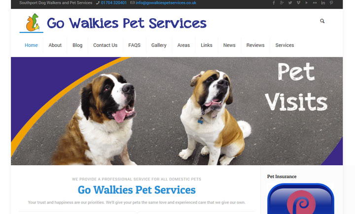 Go Walkies Pet Services, Southport
