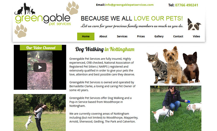 Greengable Pet Services Nottingham