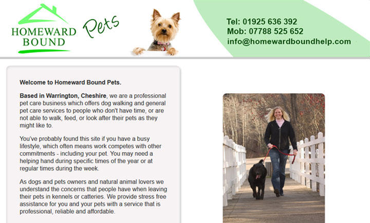 Homeward Bound Pets, Warrington