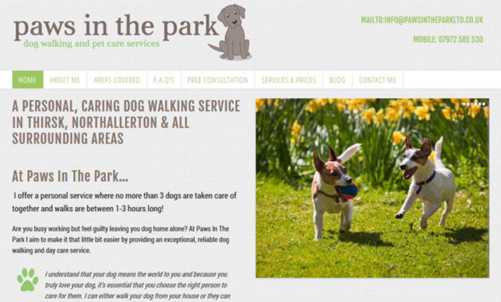 Paws In The Park, Thirsk
