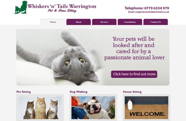 Whiskers n tails, Warrington